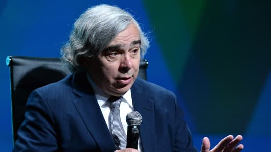 U.S. Secretary of Energy Ernest Moniz.