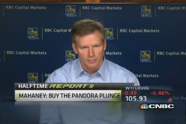 Pandora to fend off Apple, Google: Mark Mahaney