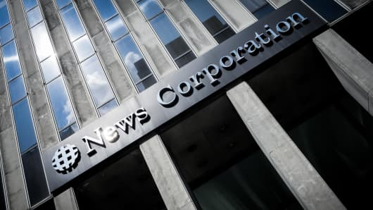 News Corporation building in New York