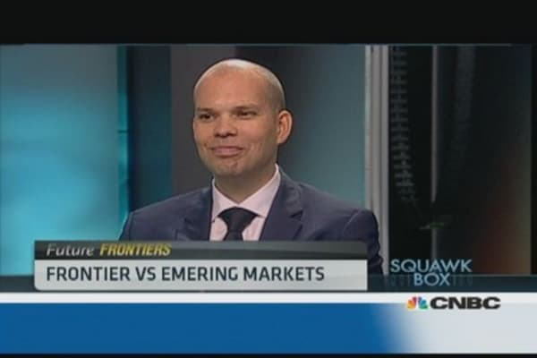 Frontier markets aren't correlated to the global market: Pro