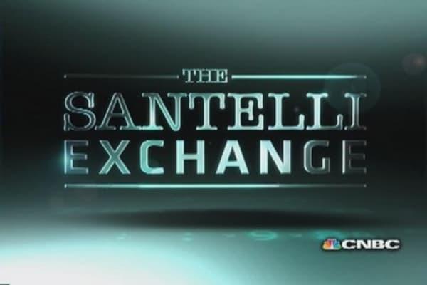 Santelli on Japanese debt and taxation