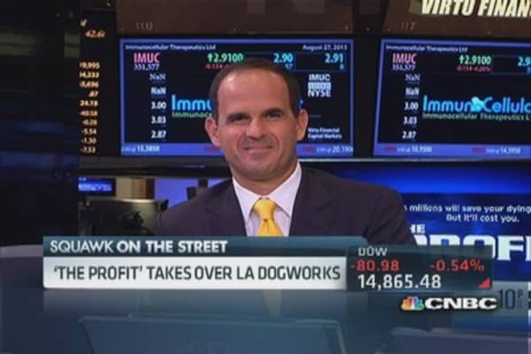 'The Profit' takes over LA Dogworks
