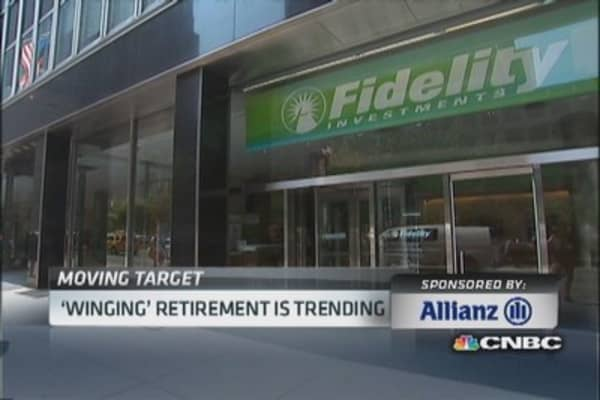 'Winging' retirement is trending
