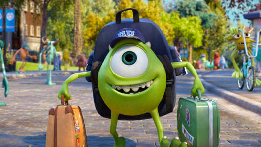 "Scene from ""Monsters University"""