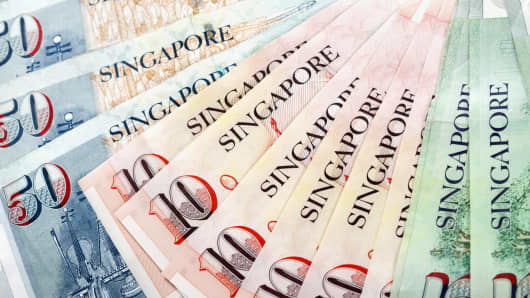 singapore money currency •