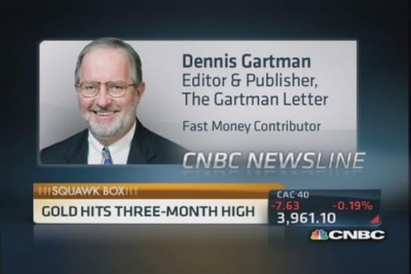 Gartman: Buy gold, sell euros