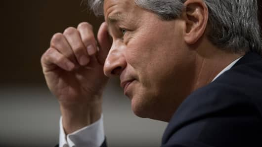 Jamie Dimon, chairman of the board, president and CEO of JPMorgan Chase.