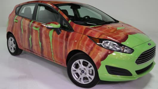 Bacon wrapped Ford Fiesta!