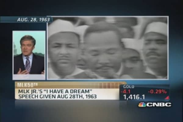 'I have a dream': 50 years later