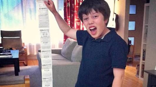CVS receipts are too darn long!