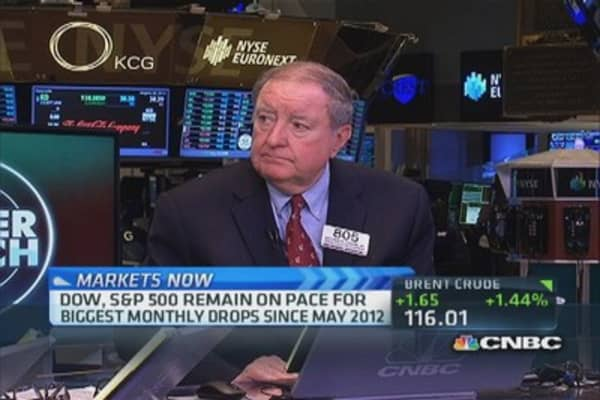 Cashin: Volume may pick up Friday