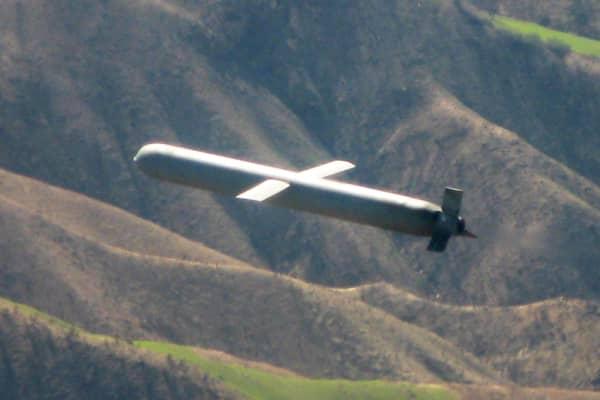 Raytheon's cruise missile Tomahawk.