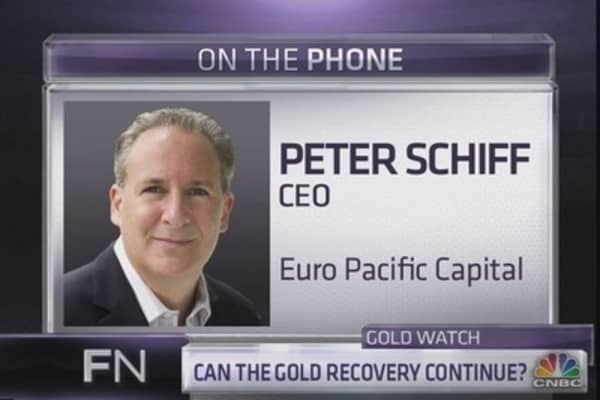 Schiff: Syria could be huge position for gold