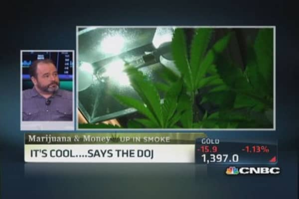 Marijuana's money-making potential