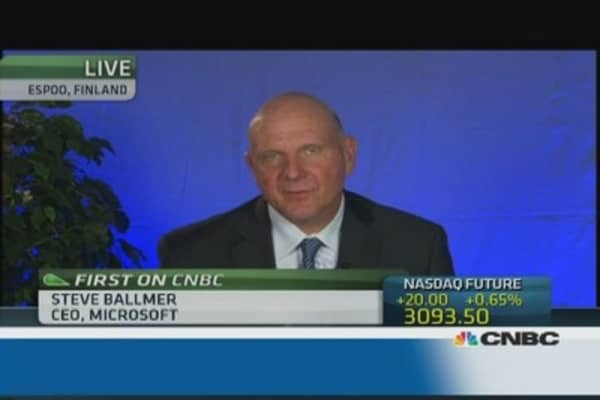 Ballmer: we're focusing on 'high-value' activities