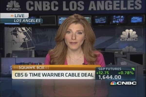 Details of CBS-Time Warner Cable deal