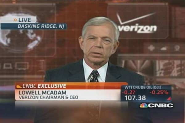 Verizon CEO: The $130B megadeal
