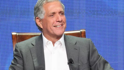 Leslie Moonves, President and Chief Executive Officer, CBS Corporation on July 29, 2013 in Los Angeles, Calif.