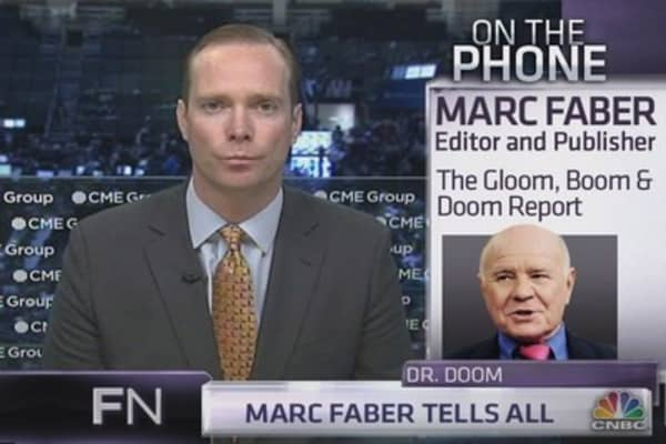 Why Marc Faber is buying Treasurys