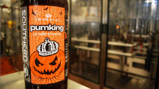 Southern Tier's Pumking beer