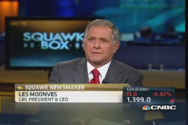 Very pleased with TWC deal: Moonves