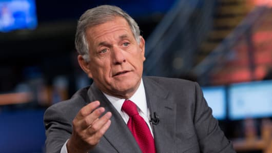 Les Moonves, president and chief executive officer of CBS Corp.