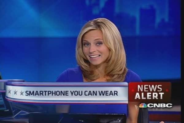 Samsung smartwatch unveiled