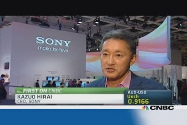 Sony CEO: Xperia Z1 will boost bottom line
