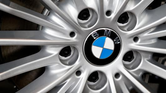 BMW recall 156.137 vehicles in the United States