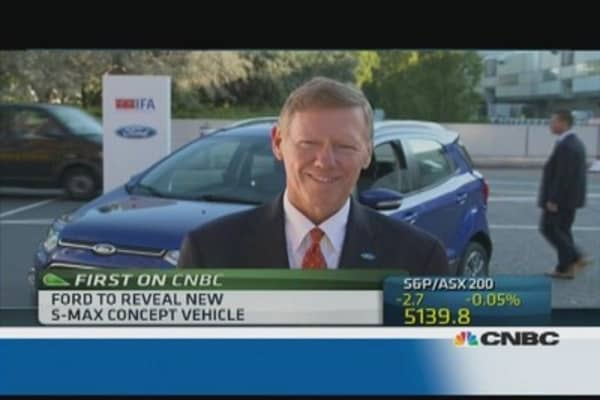 I'm absolutely focussed on Ford: CEO