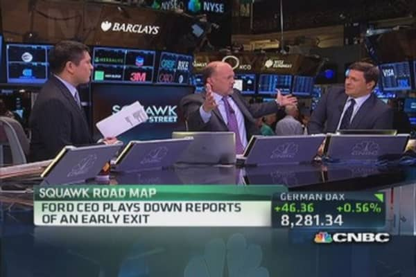 Cramer on Alan Mulally and Microsoft