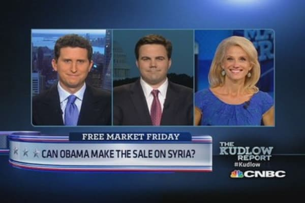 Obama selling case for Syria?