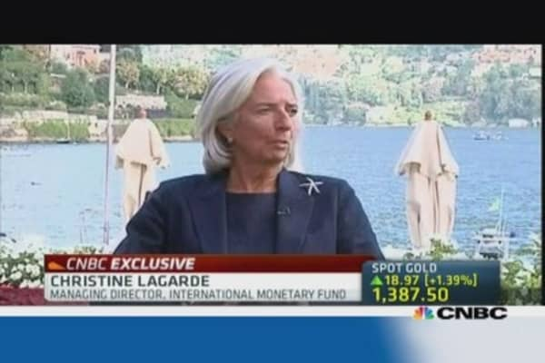 Lagarde: Everybody is anxious about Fed tapering