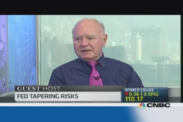 Marc Faber: Emerging markets are oversold