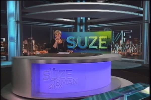 Suze alert! Change of advice