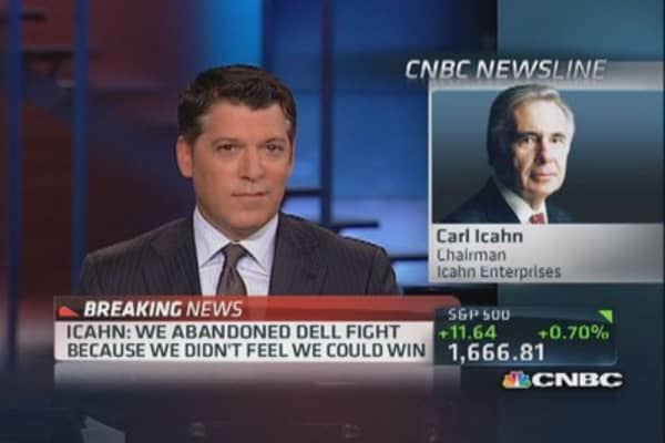 Icahn: Dell situation corporate dictatorship