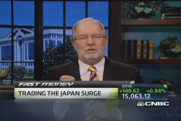 I'm going to stay long the Nikkei: Gartman