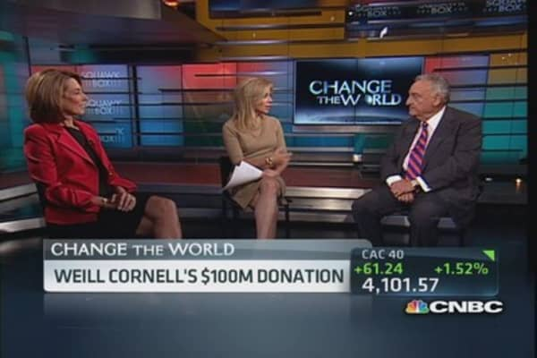 Weill Cornell's $100M donation driving discoveries