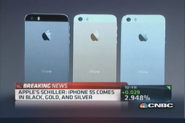 A look at the new iPhone 5s