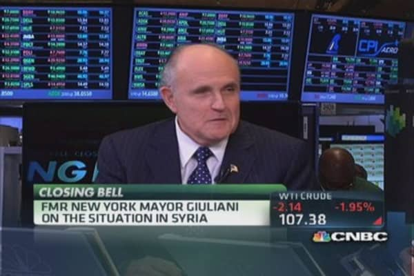 Fmr Mayor Giuliani: 'Syria is a risk because of Iran'