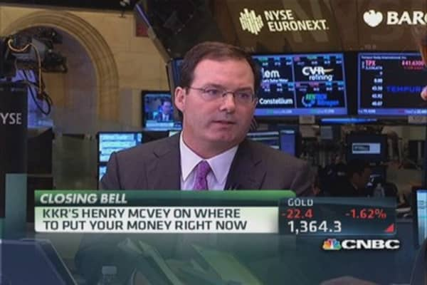 KKR's McVey: Where to put your money
