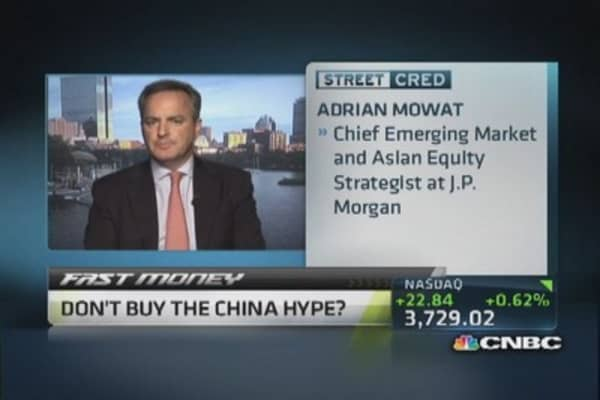 JPMorgan's China and emerging market outlook