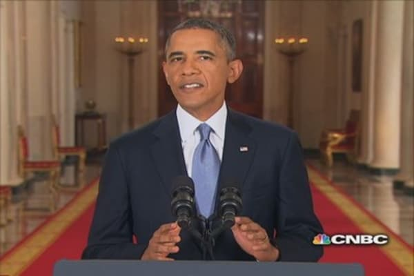 Pres. Obama & the case against Syria