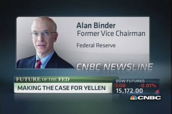 Making the case for Yellen to take Fed reins