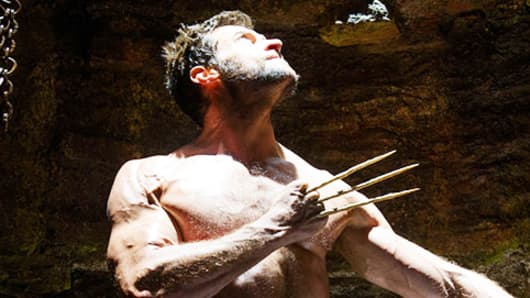 "Hugh Jackman in ""The Wolverine"""