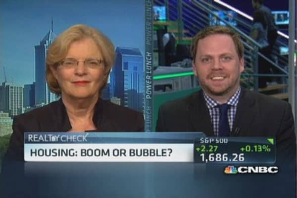 Housing boom or bubble?