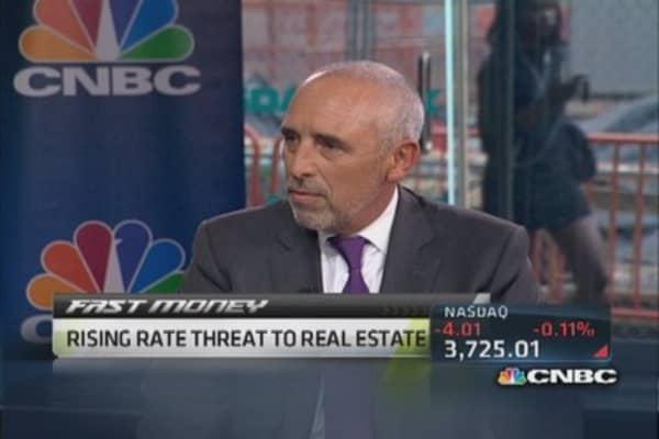 Real estate & rising rates
