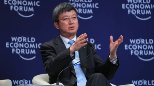 Zhu Min, Deputy Managing Director of the International Monetary Fund