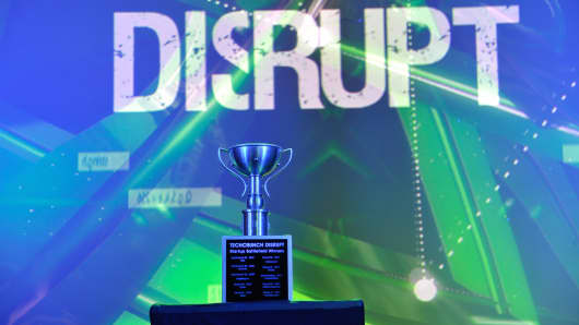 TechCrunch Disrupt's Startup Battlefield Winners Award