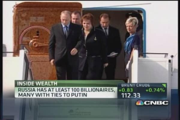 How much is Putin worth?